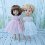 Платья для кукол 32-34 см Паола Рейна Литл Дарлинг и других подобного размера