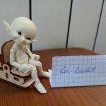 Кукольная мебель, унитаз