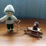Зимние новогодние костюмы для Реалпуки