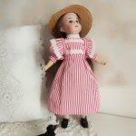 Платье для антикварной куклы я