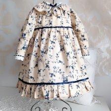Платье для антикварной куклы