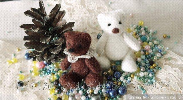 миниатюрные медвежата