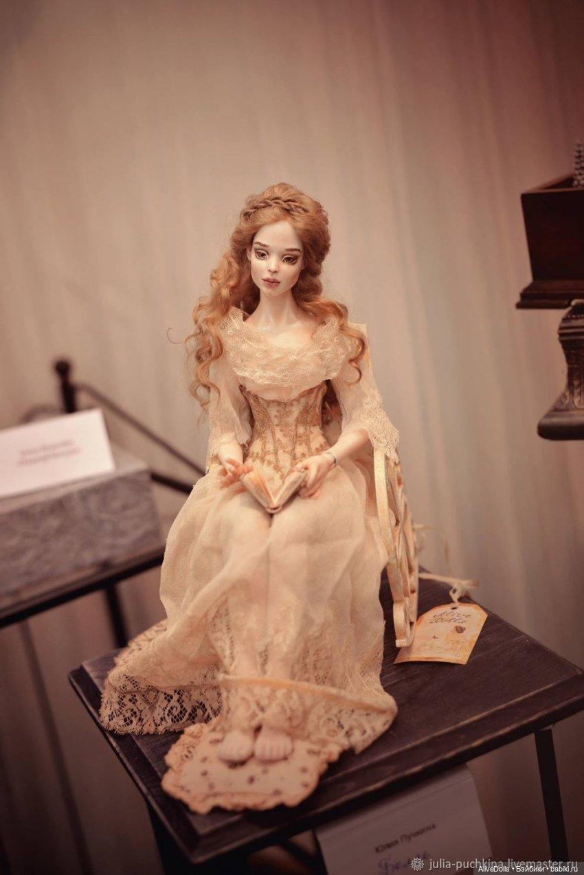 Бэлль. Шарнирная кукла из Фарфора. 2017 г