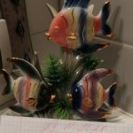 Статуэтка фарфоровая Рыбки Рыбы
