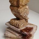 Фигурка статуэтка Сова с книгами