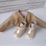 Фирменные сапоги и куртка от Lamagik для кукол до 35см и ножку до 5 см