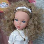 Мари Vidal Rojas блондинка с голубыми глазами