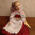 Фарфоровая Алёнушка Куколка для куклы