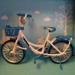 Велосипед металл - синий