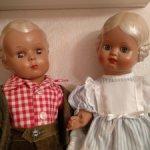 Классические немецкие куклы Schildkrot (Шильдкрет , Черепашка )