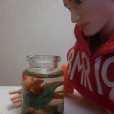 Рыбка в банке