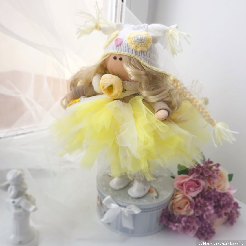 Интерьерная кукла -Солнышко