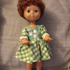 Кукла СССР, Днепропетровск, 44 см, в хорошем состоянии