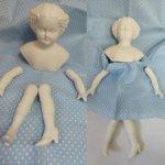 Реплика антикварных кукол