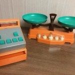 Игровой набор с весами и кассой СССР
