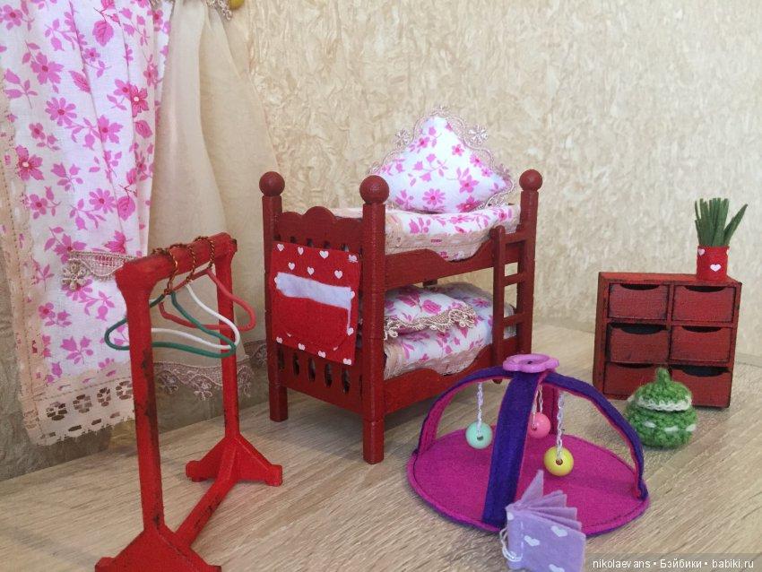мини-детская для кукол барби