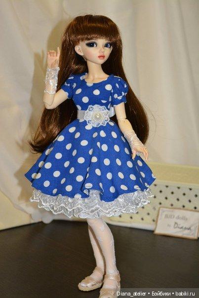 Платье на минифи