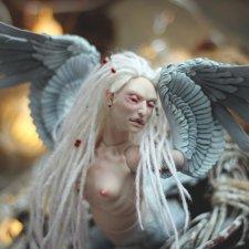 Шарнирная птица Сирин Hius doll