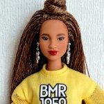 Barbie BMR мулатка с косичками, нюд
