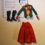 Аутфит от Барби Клары-солдатика (Щелкунчик)