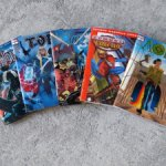 Набор комиксов Marvel в формате 1:6