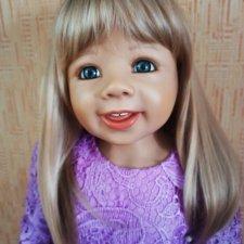 Коллекционная кукла Agneta (Агнета) от Monika Levenig.