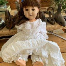 Антикварная кукла на опознание, помогите