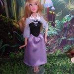 Аврора от дисней в редком деревенском платье
