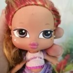 Bratz Babyz Hair Flair Glow in the Dark, братц бебиз Ясмин под восстановление