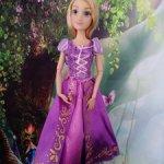 Рапунцель в шикарном платье