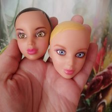 Головы кукол Liv