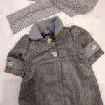 Модное пальто с шарфиком для кукол Готц Gotz.