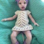 Силиконовая кукла-реборн розовый аватар Виола