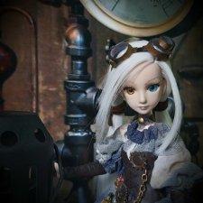Гибридная куколка в стиле стимпанк