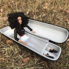 Жесткий чехол для переноски кукол формата барби, интегрити и им подобных