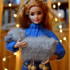 Овечки-марионетки для кукол барби \ Barbie, Paola Reina, Blythe, Integrity toys