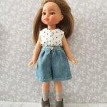 Аутфит для кукол мини Паола Рейна