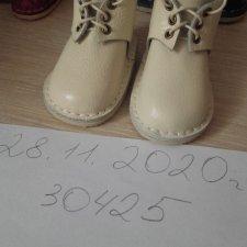 Ботиночки из натуральной кожи для куколок Готц.