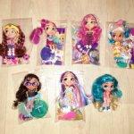 Куколки Hairdorables из разных серий