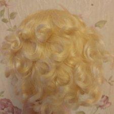 Парик блонд, 10-11 inch, мохер