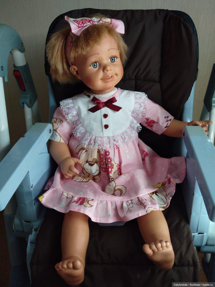 Smoby платье розовое