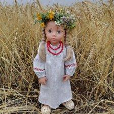 Как куколки Анюта и Кларочка Gotz побывали в поле