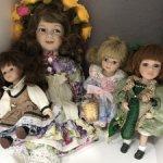 Фарфоровые куколки лотом