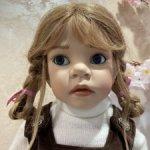 Редчайшая Gianna с косичками от Elisabeth Lindner