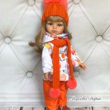 Вязаная одежда для кукол Paola Reina и им подобных