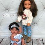 Кукла Эмили + пепитка от Антонио Хуан