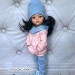 Кукла Лиу от Паола Рейна на шарнирном теле