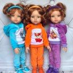 Комплекты одежды для кукол Paola Reina и им подобных