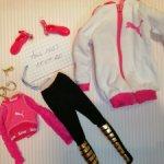 Оригинальная одежда от барби Puma блондинки