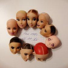 Головы кукол под прошивку